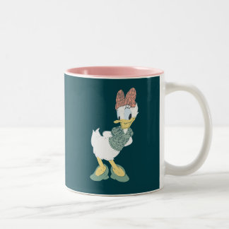 Daisy Duck | You Make Me Wander Two-Tone Coffee Mug