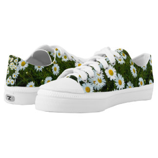 Daisy Field Low Top Printed Shoes