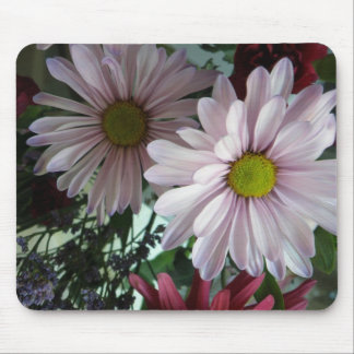 daisy  floral mouse pad