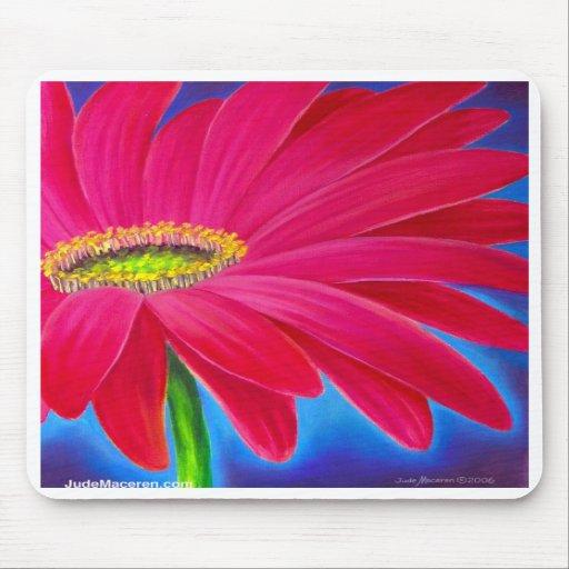 DAISY FLOWER ART - MULTI MOUSE MAT