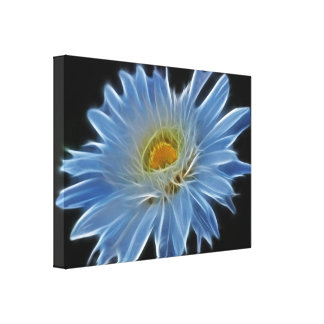 Daisy Flower Gallery Wrapped Canvas