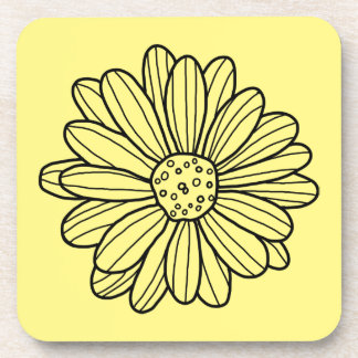 Daisy Flower Coaster