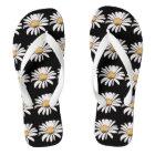 Daisy (Flower) - Custom Adult, Wide Straps Thongs