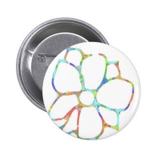 Daisy flower design button