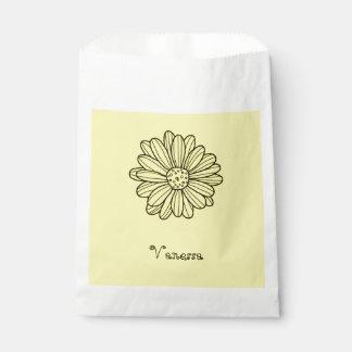 Daisy Flower Favour Bag