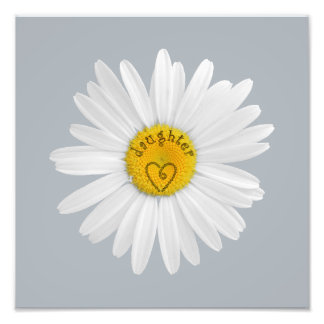 Daisy Flower For Daughter Art Customize Background Photograph