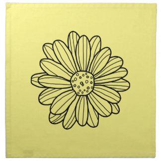 Daisy Flower Napkin