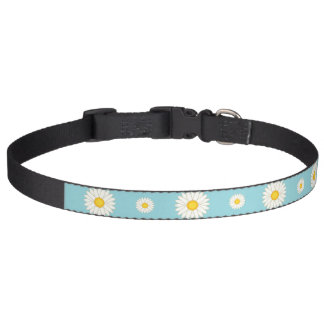 Daisy Flower Pattern Pet Collars