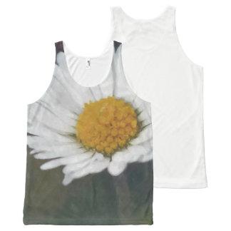 Daisy flower photograph All-Over print singlet