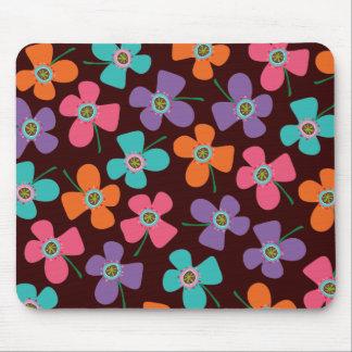 Daisy Flower Pop Fun Summer Daisies Whimsical Cute Mouse Pad