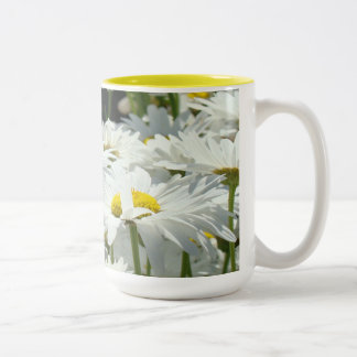 Daisy Flowers Garden Coffee mugs custom Daisies