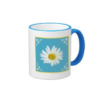 Daisy Fresh Ringer Mug