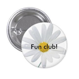 daisy, Fun club! 3 Cm Round Badge