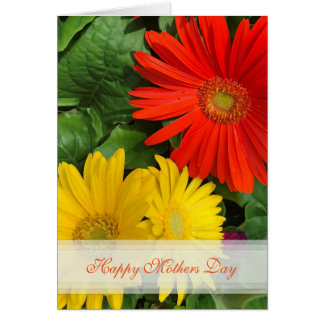Daisy Happy Mothers Day Card