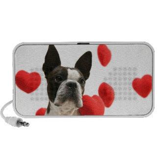 Daisy heart laptop speakers