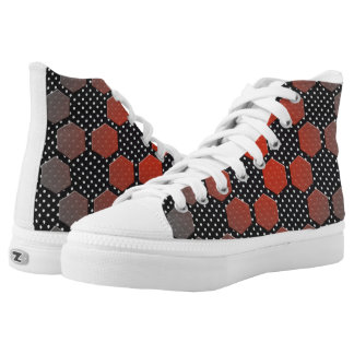DAISY HIGH TOP PRINTED SHOES
