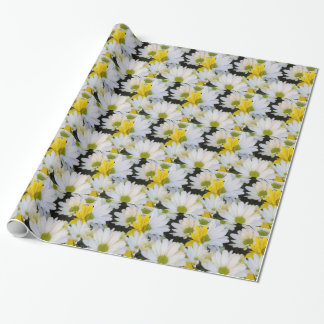 daisy in the garden wrapping paper