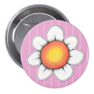 Daisy Joy pink 3 Button