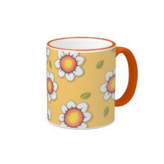 Daisy Joy yellow Daisies Mug