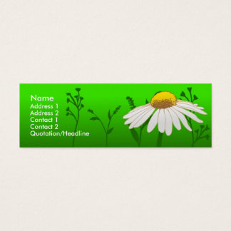 Daisy Mini Business Card