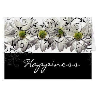Daisy notecard greeting card
