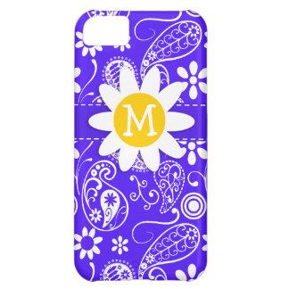 Daisy on Han Purple Paisley iPhone 5C Covers