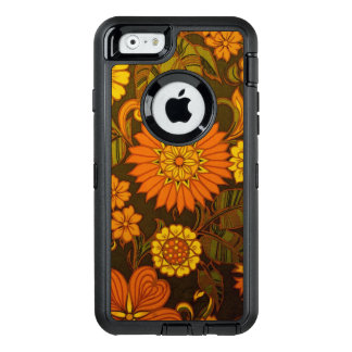 Daisy Orange Design OtterBox Defender iPhone Case