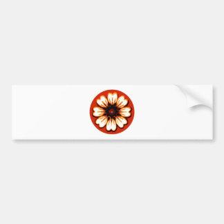 Daisy Orange The MUSEUM Zazzle Gifts Bumper Sticker