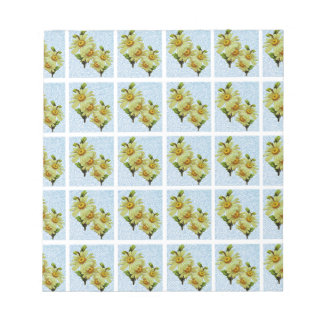 DAISY PATTERN 2 NOTEPAD