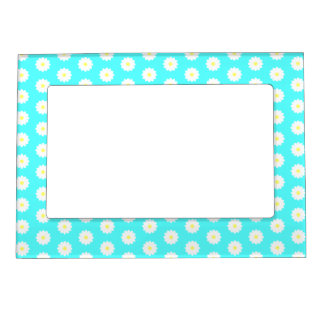 Daisy Pattern - Magnetic Picture Frame