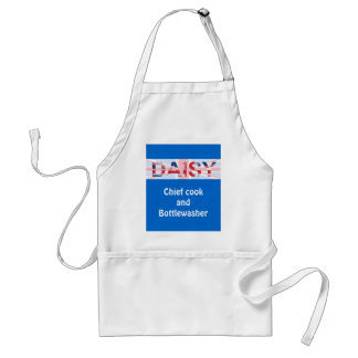 Daisy, personalised gift standard apron