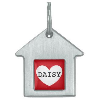 ❤️   DAISY pet tag by DAL