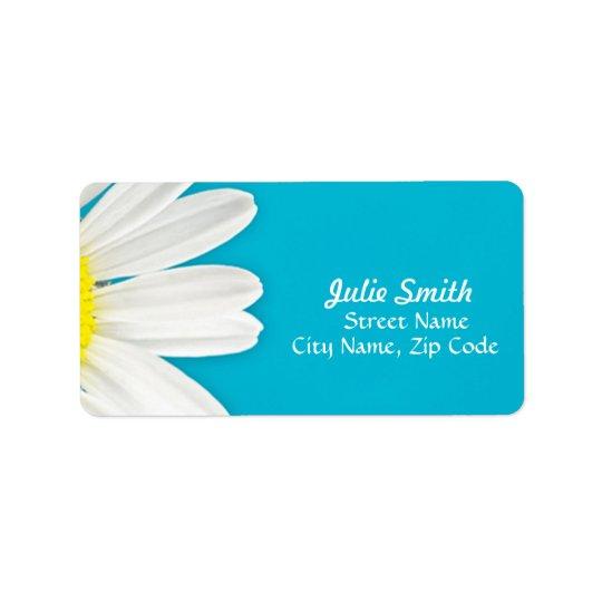 Daisy Petals Label Address Label