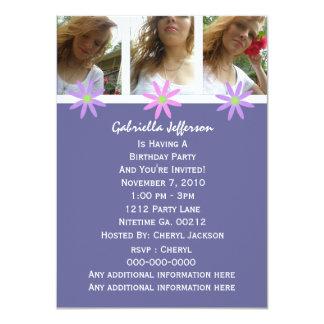 Daisy: Picture Party Invitation