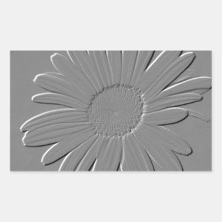 Daisy Rectangular Sticker