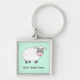 Daisy Sheep Key Ring