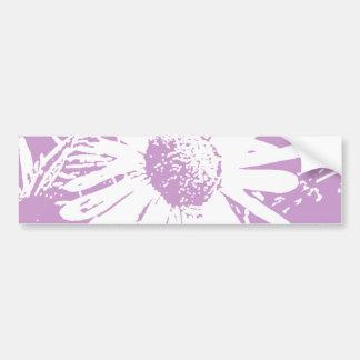 Daisy Stamp Design Bumper Sticker