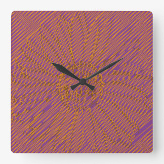 Daisy Stamp Imprint Wall Clock