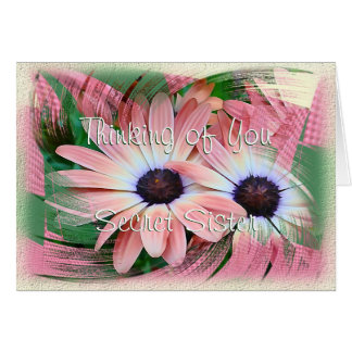 Daisy Swirl-customise any occasion Card