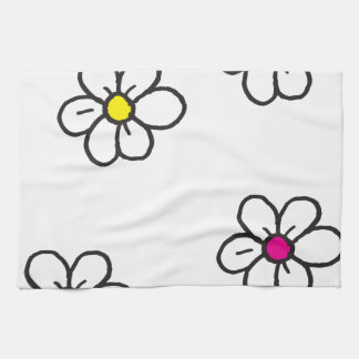 Daisy Tea Towel