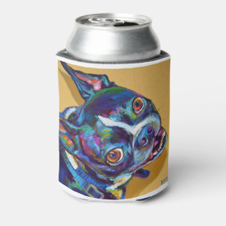 Daisy the Boston Terrier by Robert Phelps Can Cooler
