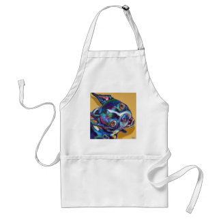 Daisy the Boston Terrier by Robert Phelps Standard Apron