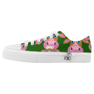 Daisy the Cow Low Top Shoes Printed Shoes