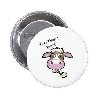 Daisy, The Cow, Market Badge