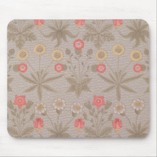 'Daisy', the first wallpaper designed by William M Mouse Pad