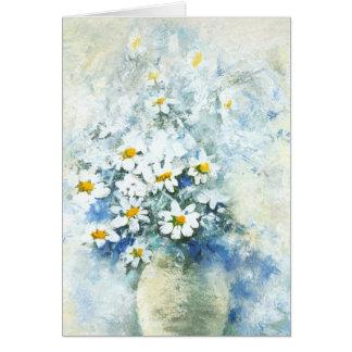 Daisy vase cards