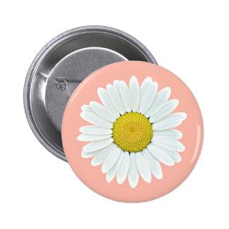 Daisy Wildflower Button
