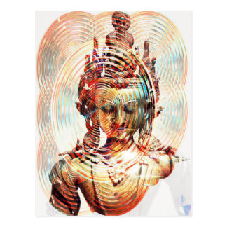 Dakini Cosmic Enlightenment Energy Postcard