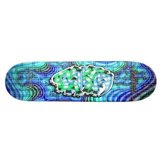 Dakota 03 Custom Graffiti Art Pro Skateboard