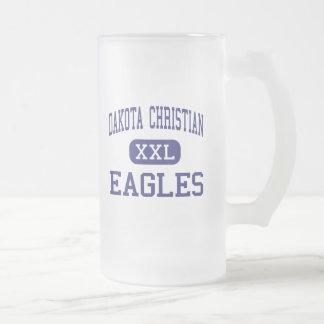 Dakota Christian - Eagles - High - New Holland Frosted Glass Mug